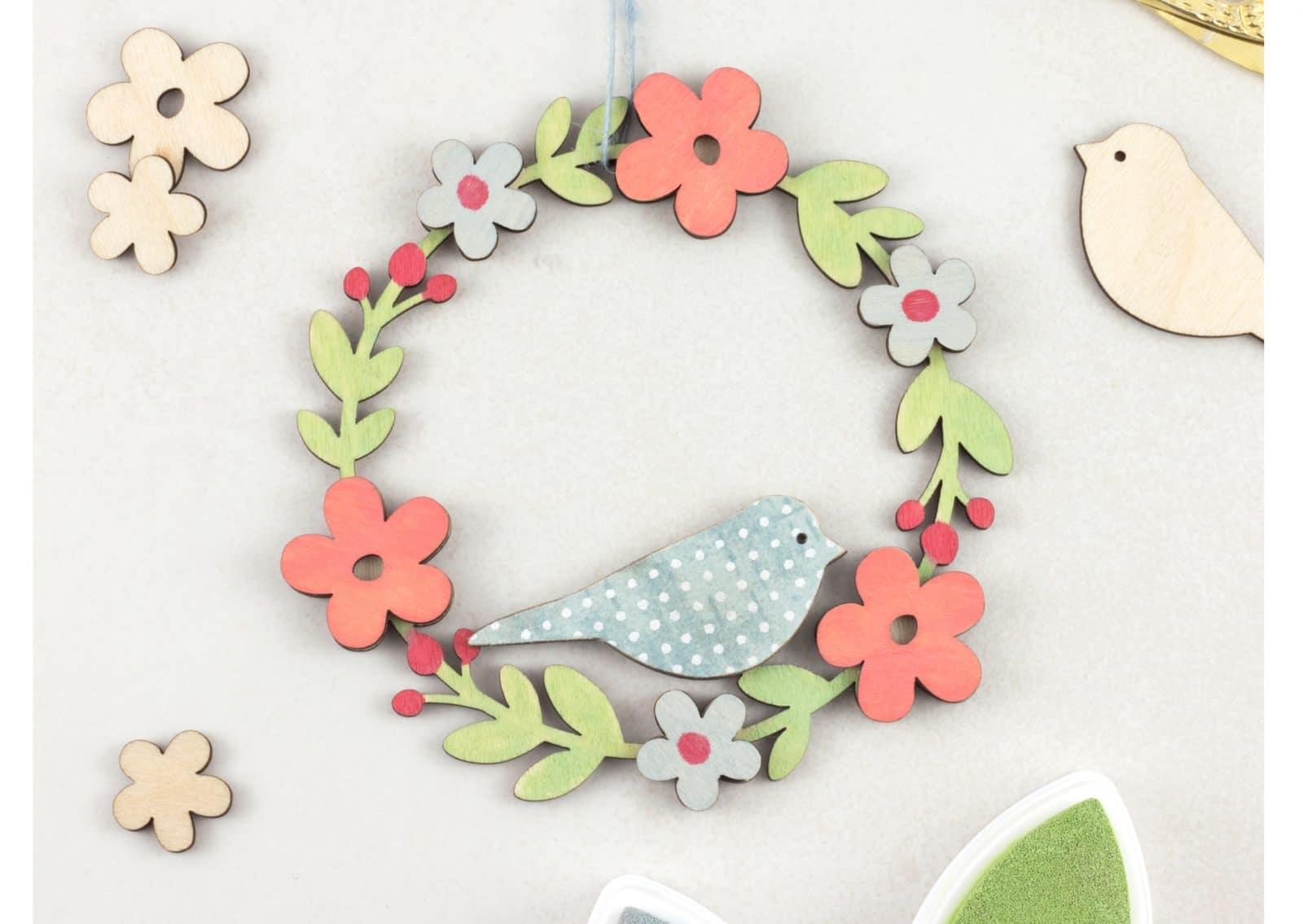 Grand Make Handmade Fair 2017 Wooden Wreath