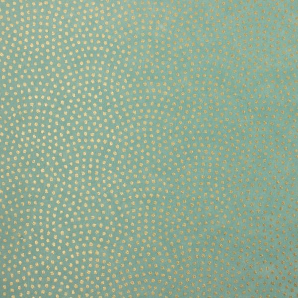Aqua Gold 808c Chiyogami Paper