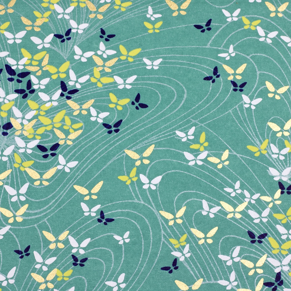 Chiyogami Paper Butterfly Swirl 866c