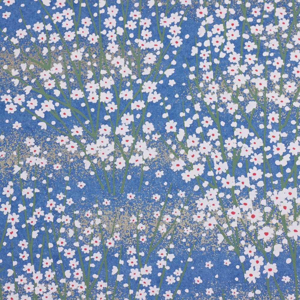 Chiyogami Paper Ditsy Blue 678c