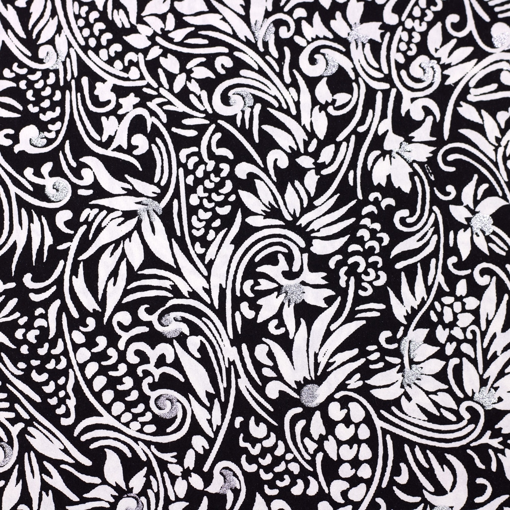 Chiyogami Paper Florence Black and White 745c