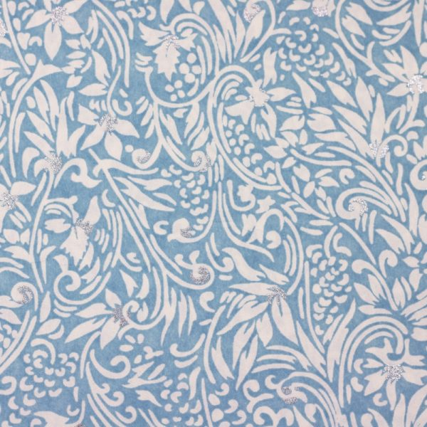 Chiyogami Paper Florence Blue 709c
