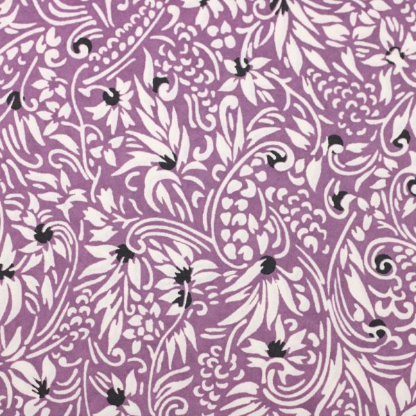 Chiyogami Paper Florence Deep Lilac 590c