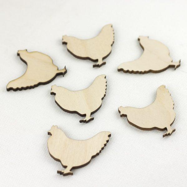wooden hens