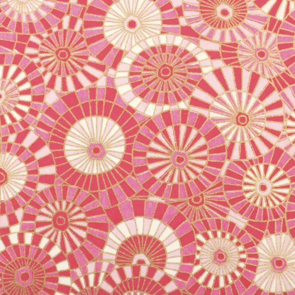 Chiyogami Paper Lollipop Pink 653c