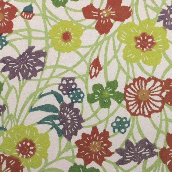 Katazome-Shi Paper Meadow Flowers 122w