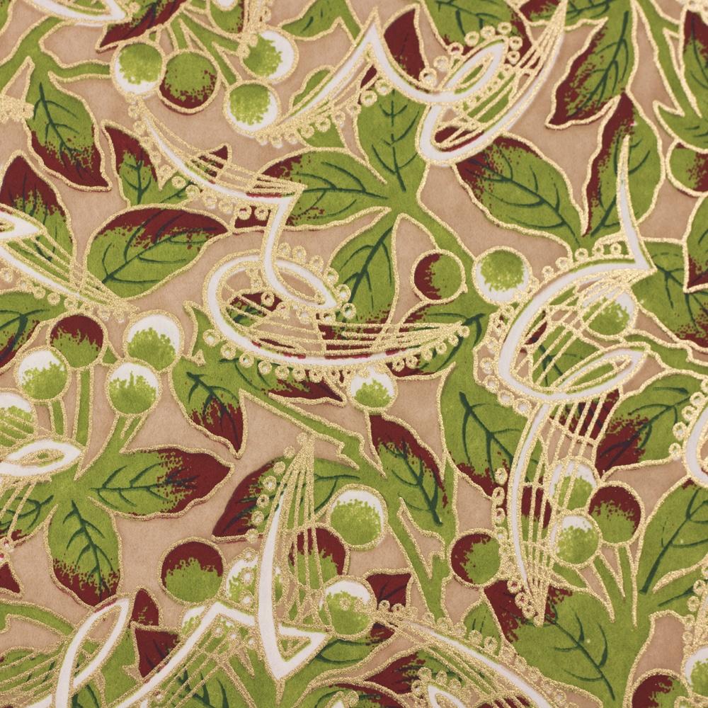 Chiyogami Paper Mistletoe 71c