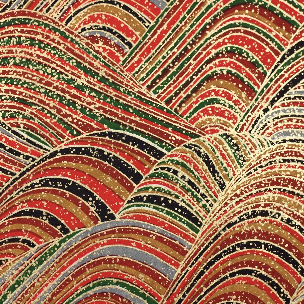 Chiyogami Paper Multi Swirl 70c