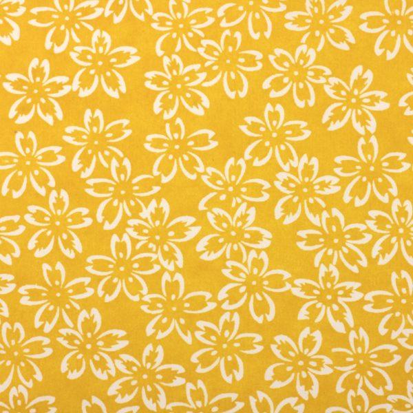 Chiyogami Paper Mustard Petals 781c