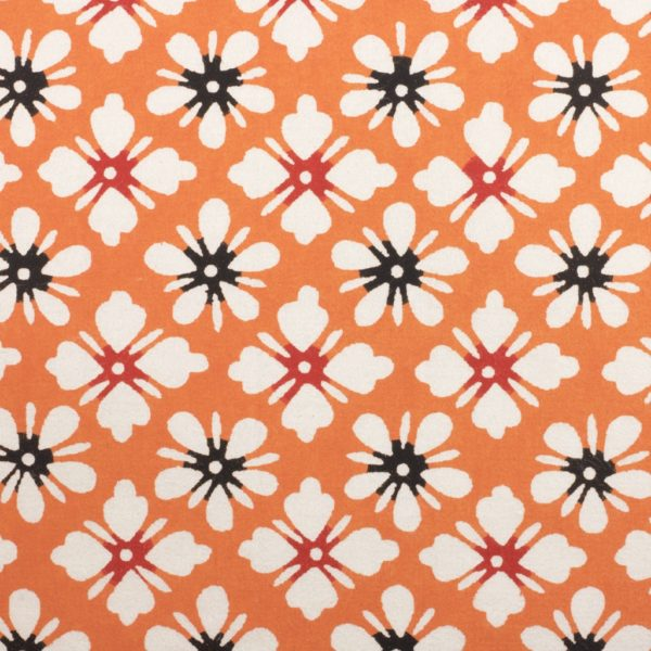 Katazome-Shi Paper Orange Daisy 131w