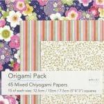 Chiyogami Paper Origami Pack