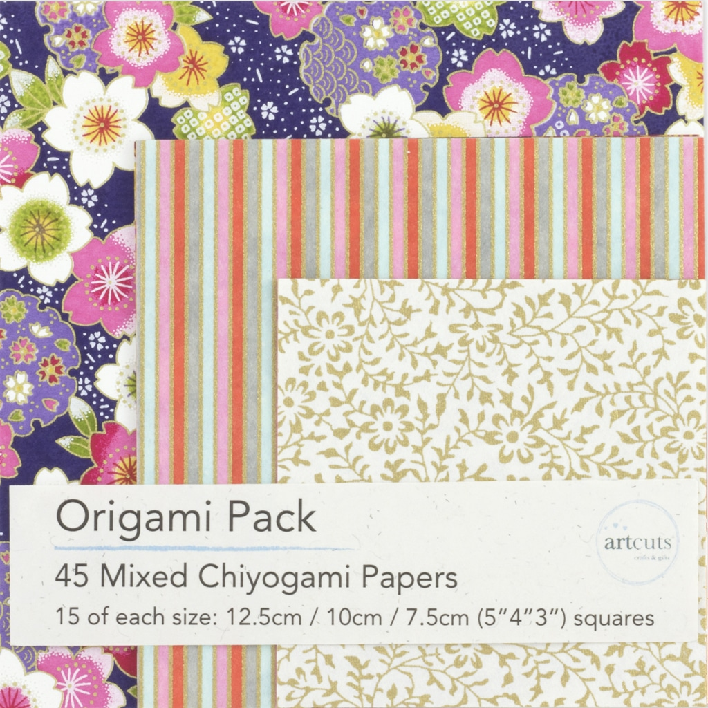 Chiyogami Paper Origami Pack