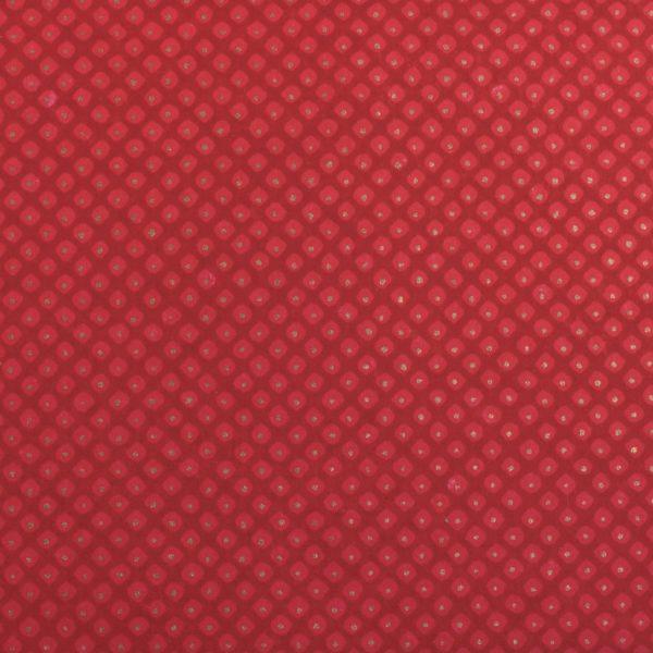 Chiyogami Paper Polkadot Cranberry 941c