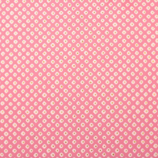 Chiyogami Paper Polkadot Pink 940c