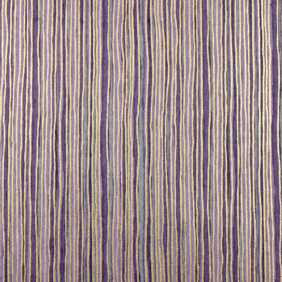 Chiyogami Paper Purple Stripe 730c