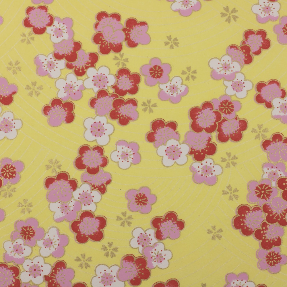 Chiyogami Paper Rhubarb & Custard 867c