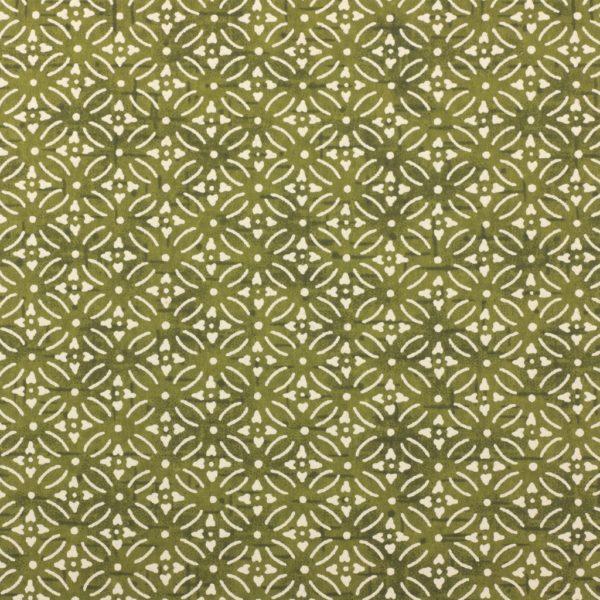 Chiyogami Paper Scandi Green 787c