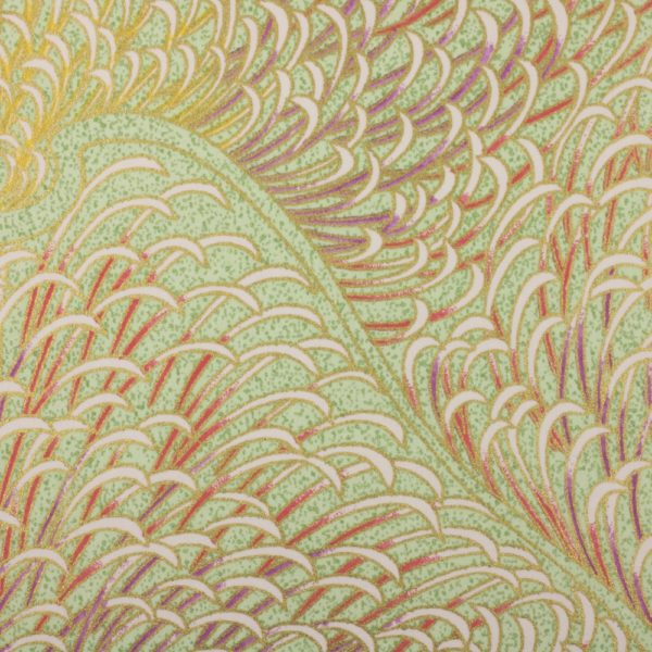 Chiyogami Paper Sea Feathers 704c