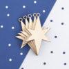 Wooden Christmas Star Craft Shape