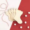Wooden Stocking Christmas Craft Shape