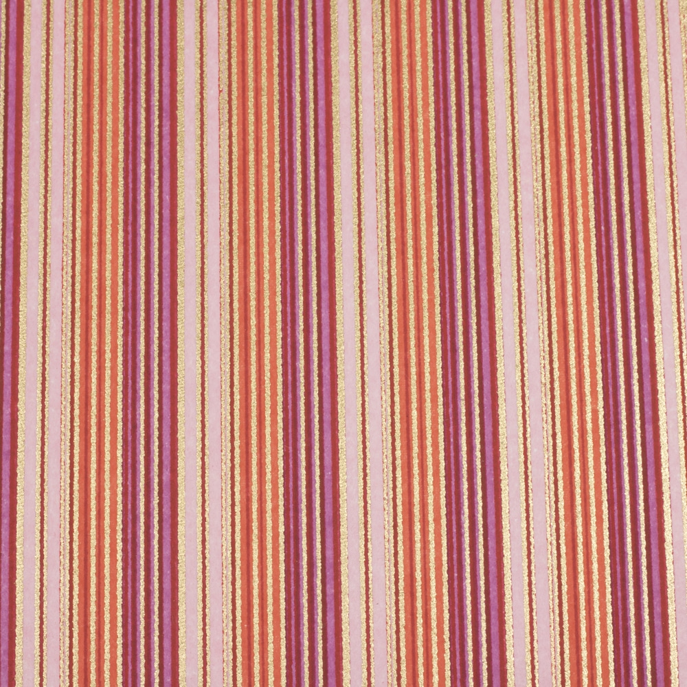 Chiyogami Paper Stripy Blouse 490c
