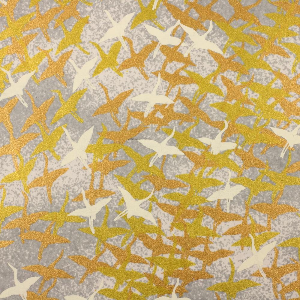 Chiyogami Paper Winter Cranes 935c