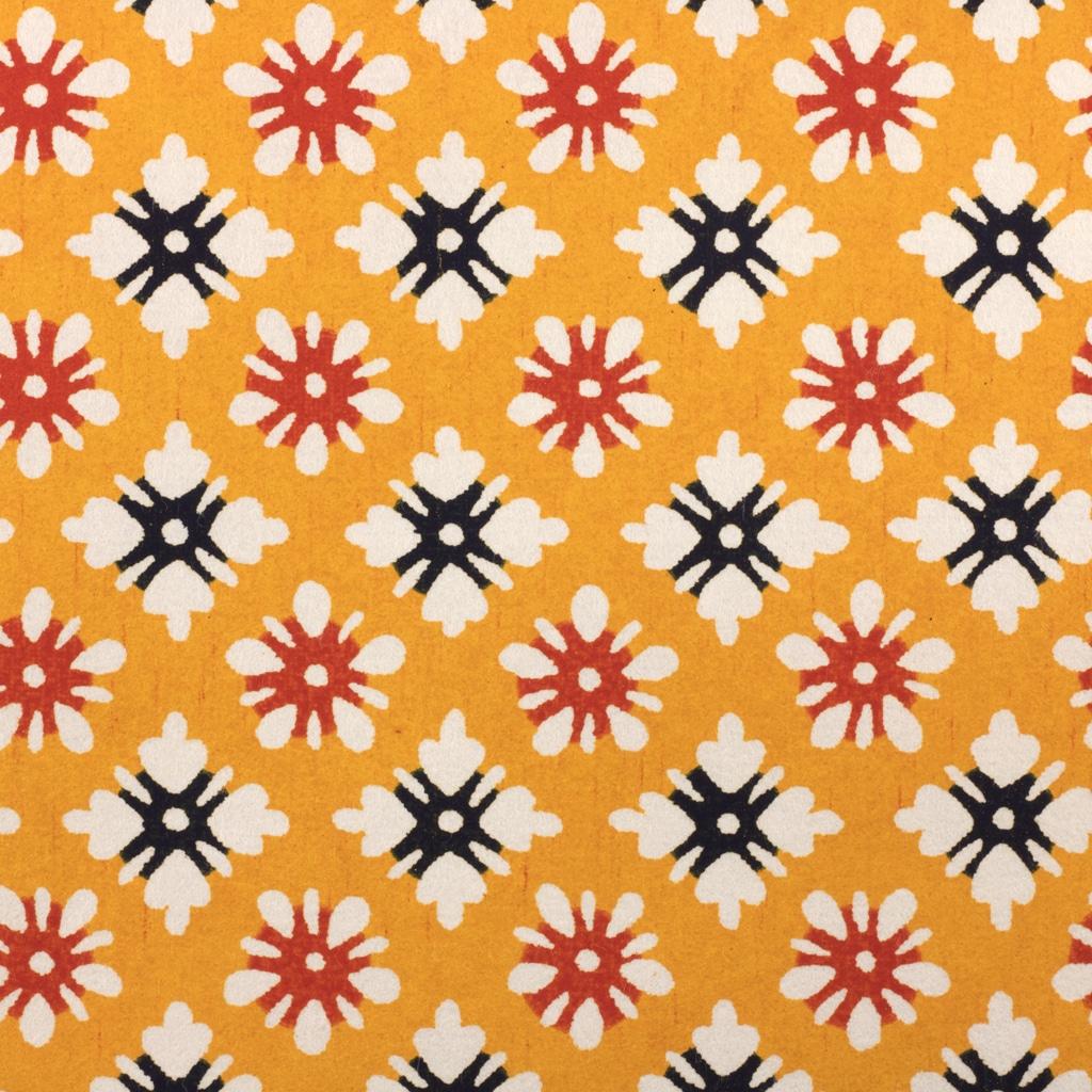 Katazome-Shi Paper Yellow Daisy 189w