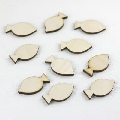 mini wooden fish