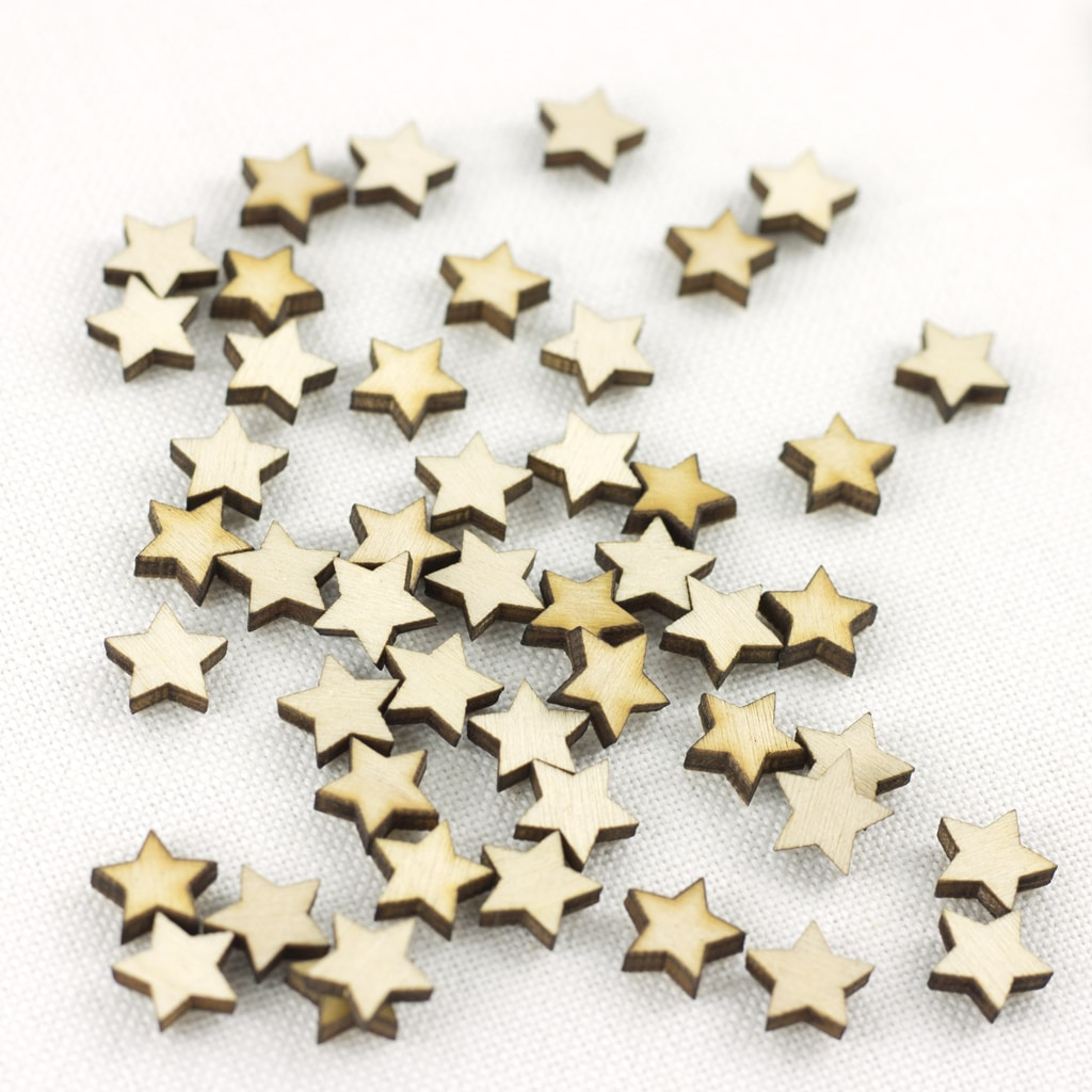 mini 1cm star embellishments