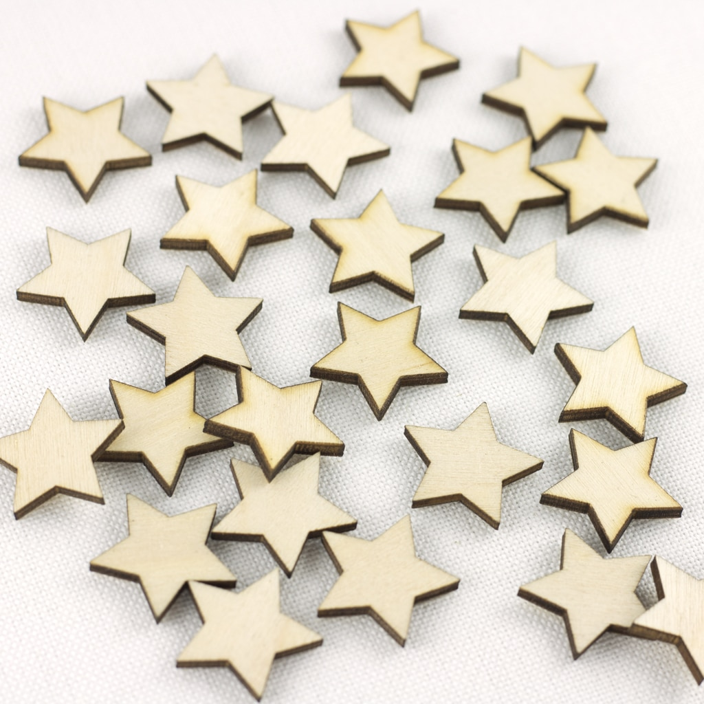 mini 2cm star embellishments