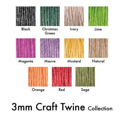 3mm medium jute string