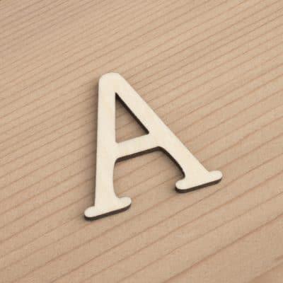3cm Letters