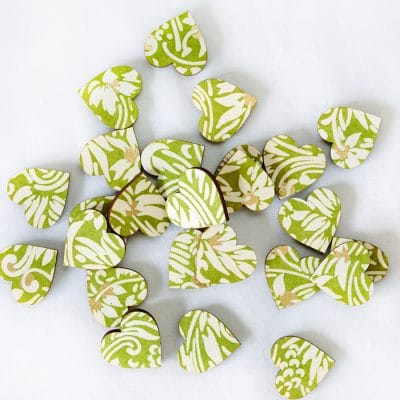 florence green scatter hearts 2cm