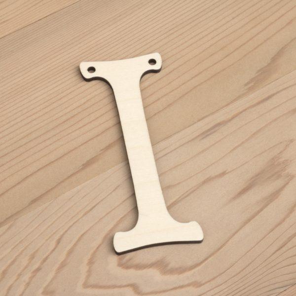 10cm alphabet bunting letter I
