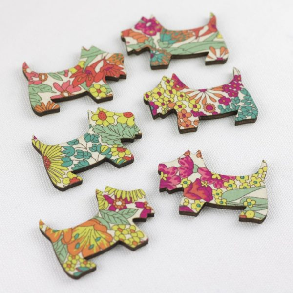 Margaret Annie Liberty Print Scotties