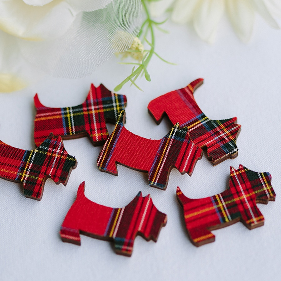 mini tartan scotties royal