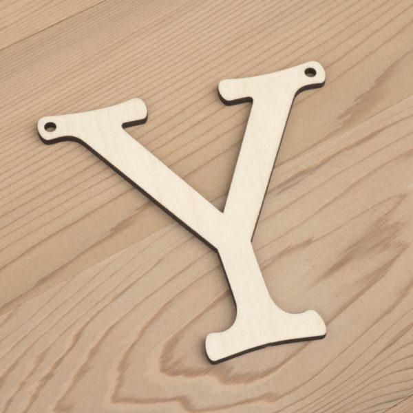 10cm alphabet bunting letter Y
