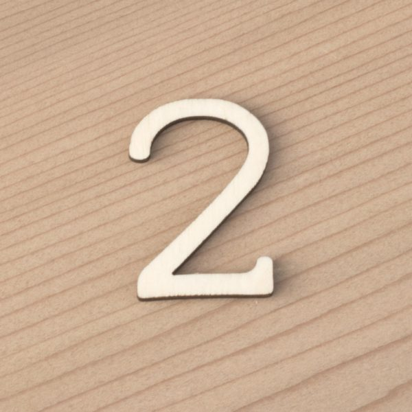 wooden number craft blanks 2