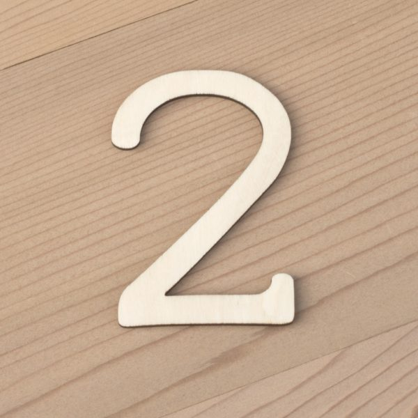 wooden number craft blanks 2