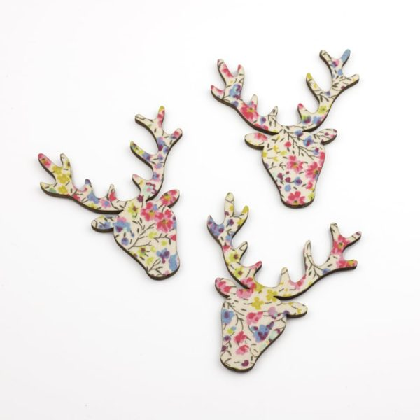 liberty print phoebe stag heads