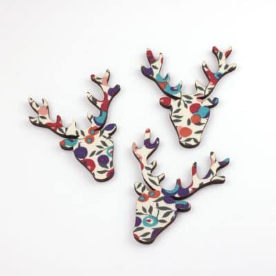 liberty print wiltshire berry stag heads