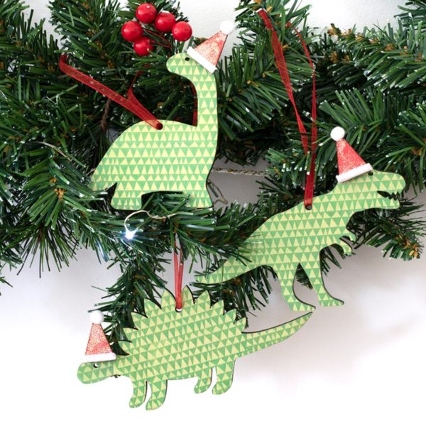 Artcuts Wooden Dinosaur Decorations