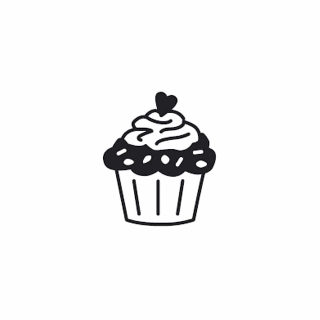 mini cupcake stamp