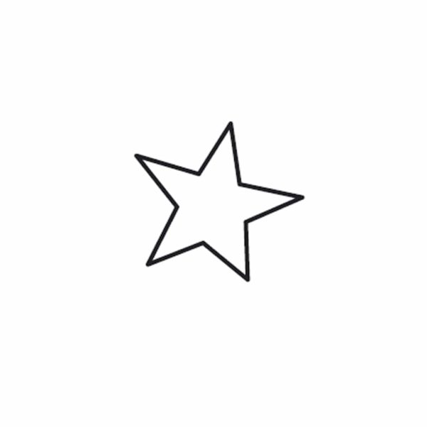 Rico mini star stamp