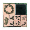 rico classical christmas stamp set