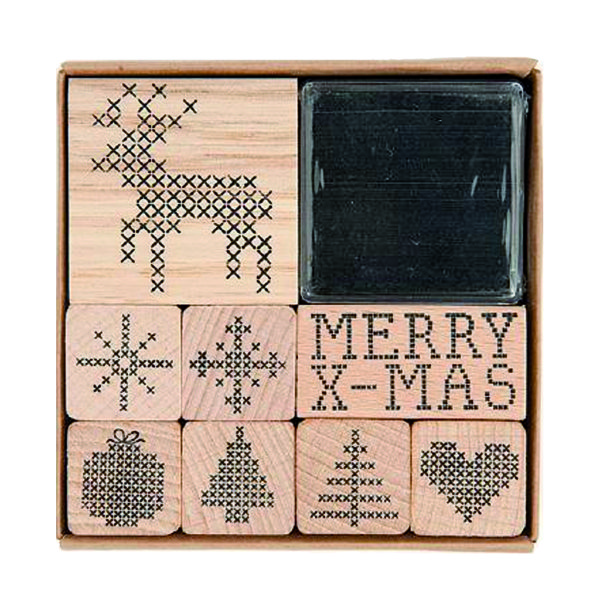 rico cross stitch stamp set