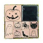 rico halloween stamp set