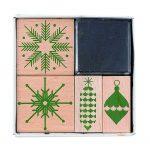 rico puristic Christmas stamp set