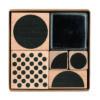 rico geometric stamp set