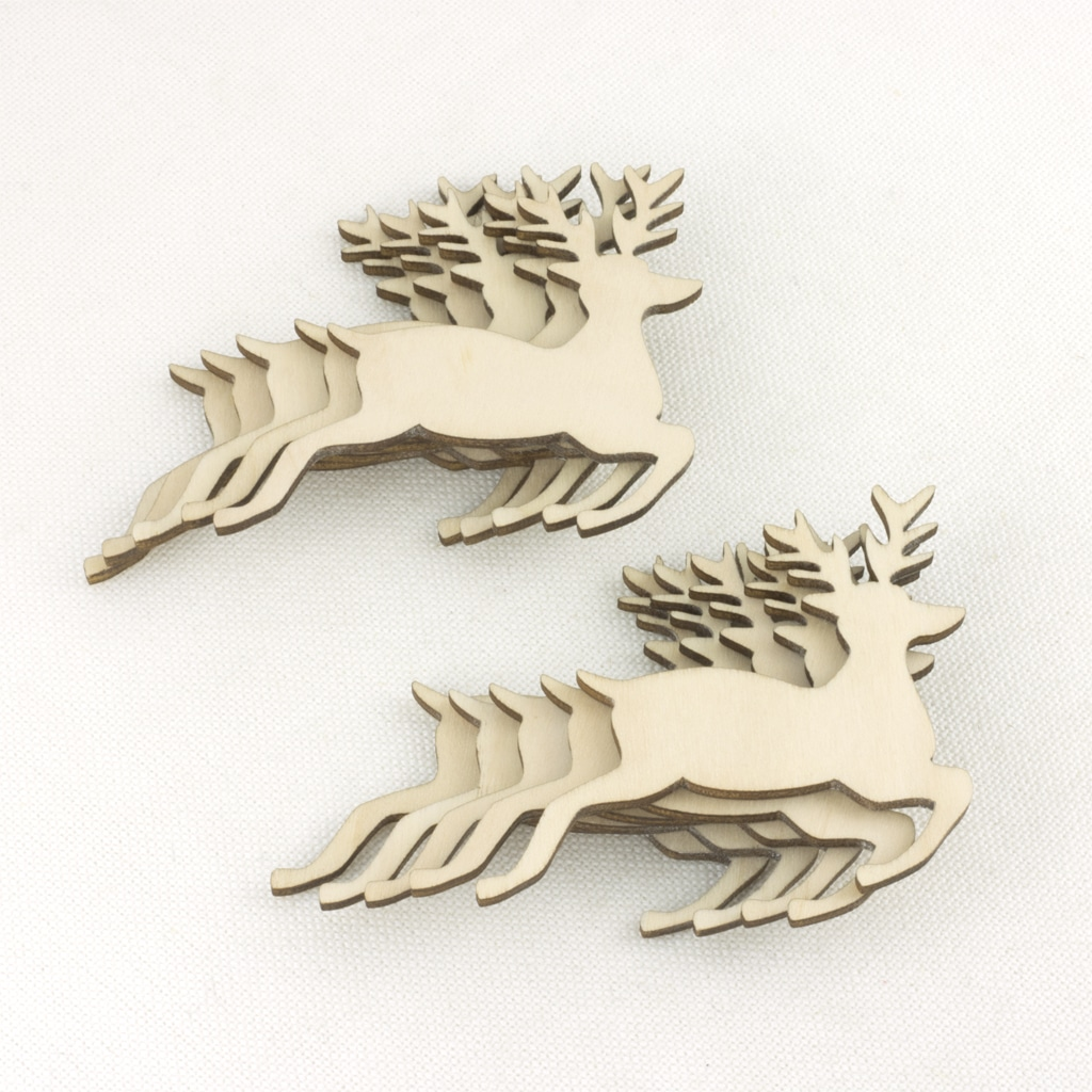 mini wooden stag